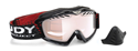 Picture of Rudyproject Klonyx Snow Black Gloss | Kayvon Red DL